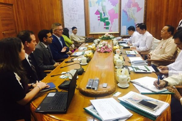 Meeting Minister of Electricity & Energy